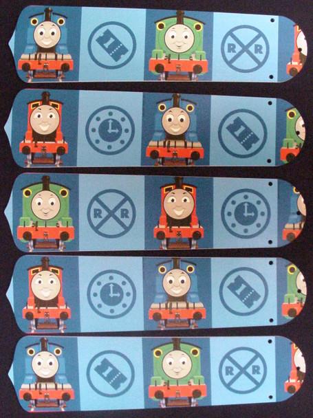 "Thomas Tank Engine Train Percy 52"" Ceiling Fan Blades Only 1"