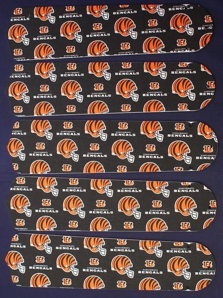 "Cincinnati Bengals Football 52"" Ceiling Fan Blades"