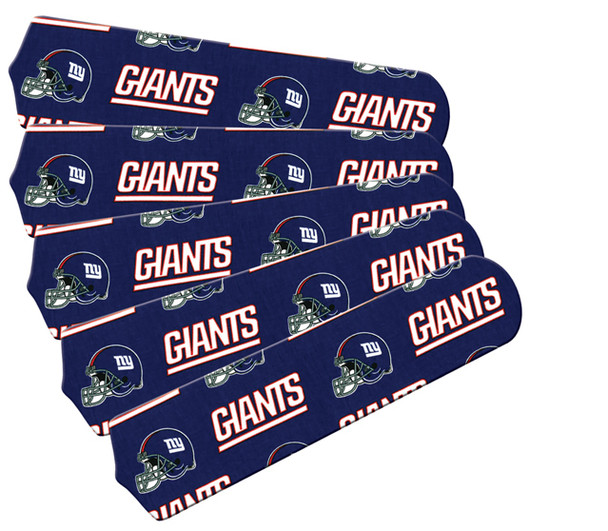 "New York Giants Football 52"" Ceiling Fan Blades"