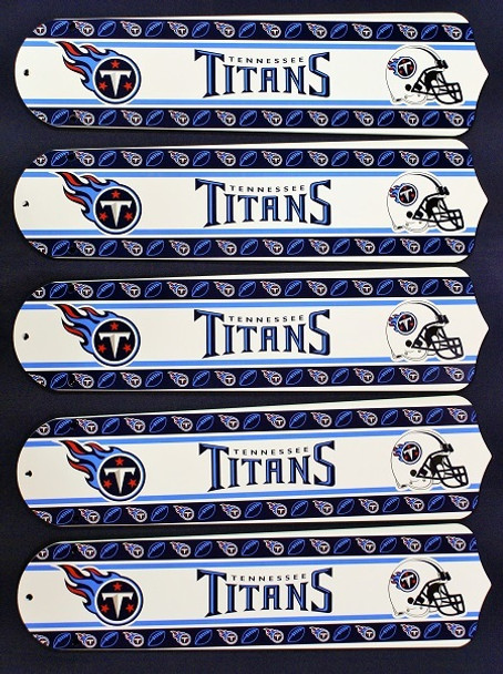 """Tennessee Titans Football 52"""" Ceiling Fan Blades"""