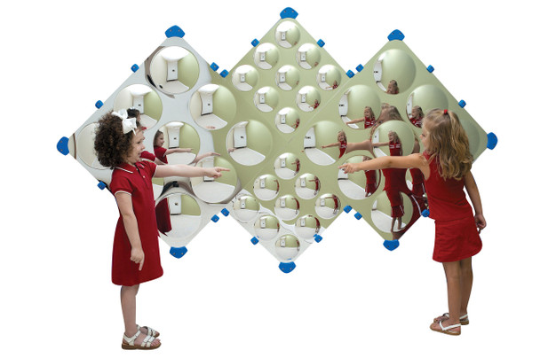 Diamond Bubble Wall Mirror