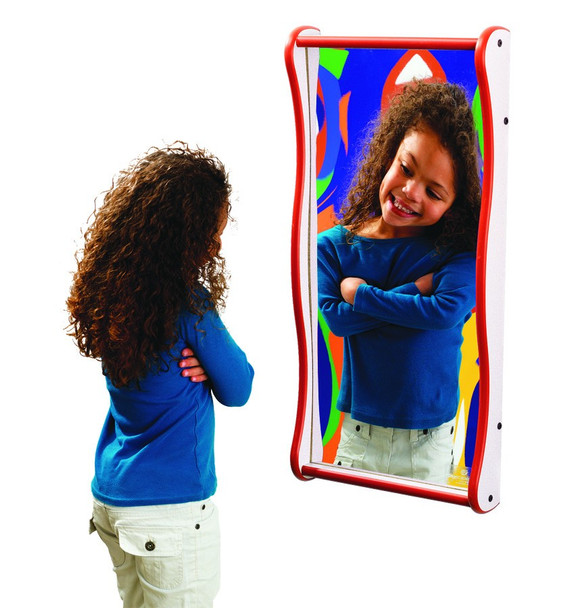 Funhouse Giggle Mirror - Medium
