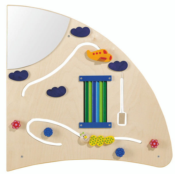 Haba Learning Wall Quarter Circle Wall Toy - Right