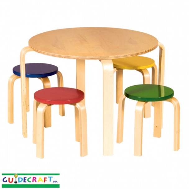 Guidecraft Nordic Table & Chairs Set - Color 2