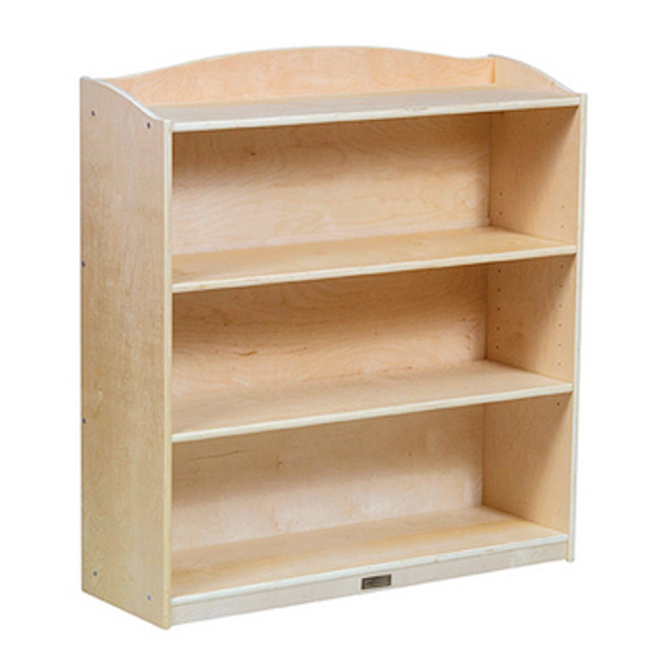 Guidecraft 4 Shelf Bookshelf 2