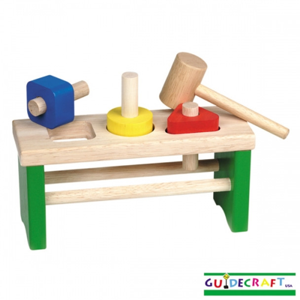 Guidecraft Shape Sorting Pounder 1
