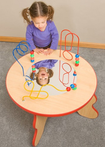 Wavy Legs Beads & Mirror Table