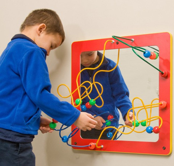 Mirror and Bead Wall Game