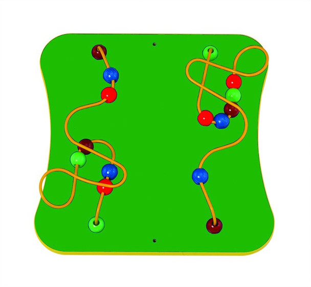 2- Wires and Beads Wall Game