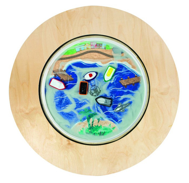 Ocean Round Magnetic Sand Table