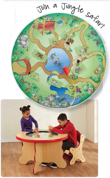 Safari Kids Magnetic Play Table 1
