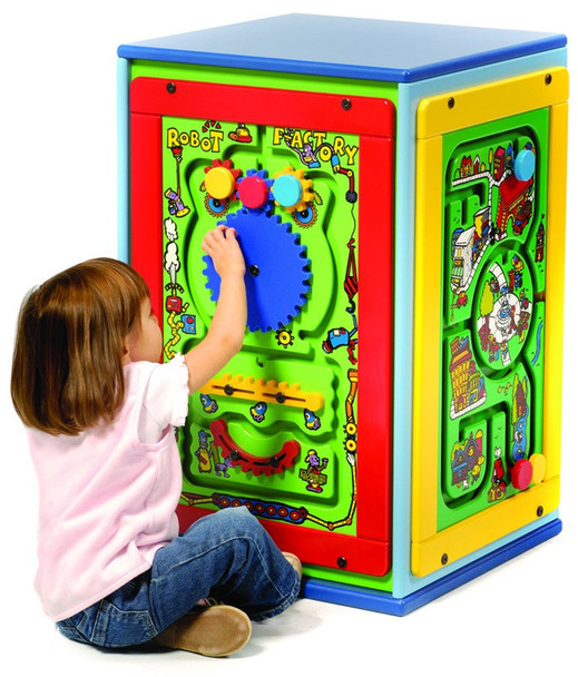 Fun Island Cube Activity Center