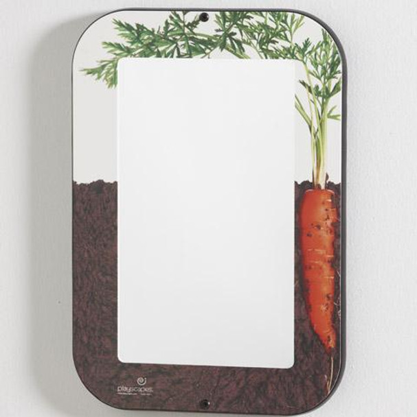 Growing Carrot Wall Mirror