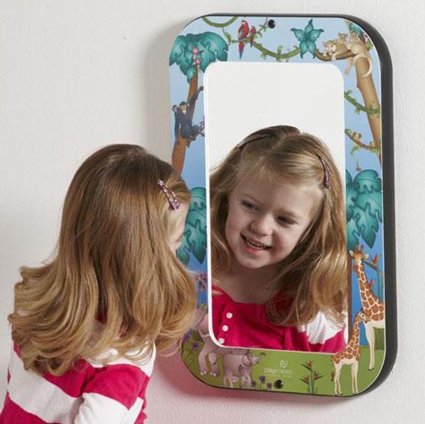 Animal Families Wall Mirror
