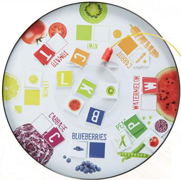 Fruits & Veggies Magnetic Play Table Top
