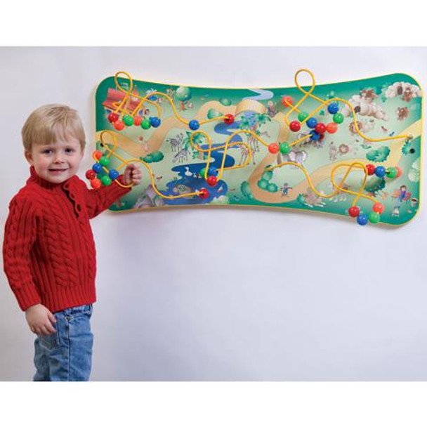 Safari Maze Wall Toy