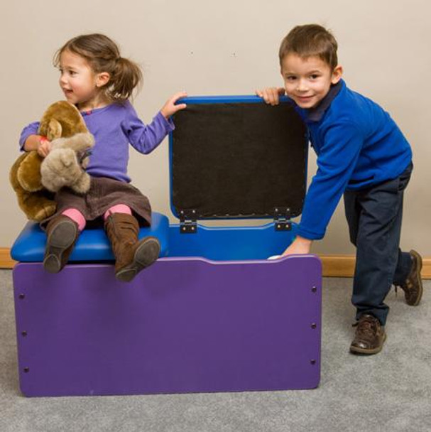 Double Toy Box Seat Chest