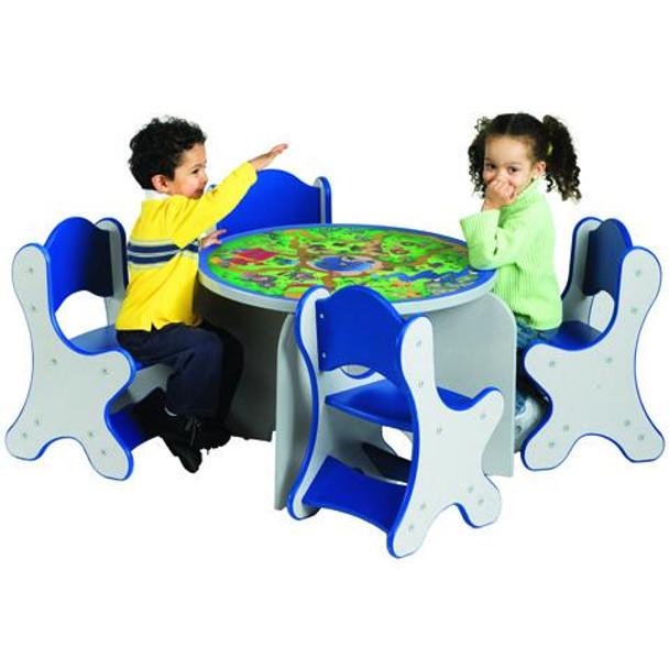 Safari Adventure Kids 5 Piece Table & Chairs