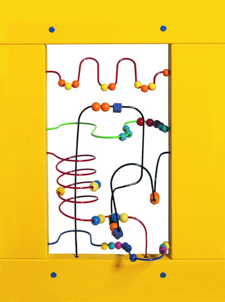 Bead Maze Wall Activity Panel