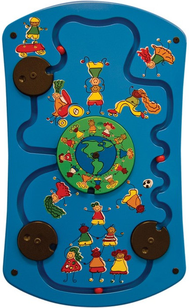 Gressco Be Active World Activity Wall Panel Toy