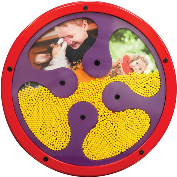 Gressco Silly Beads Activity Wall Panel Toy