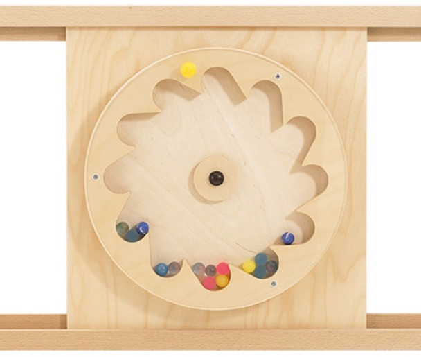 HABA Sensory Wall - Gear Wheel with Rubber Balls