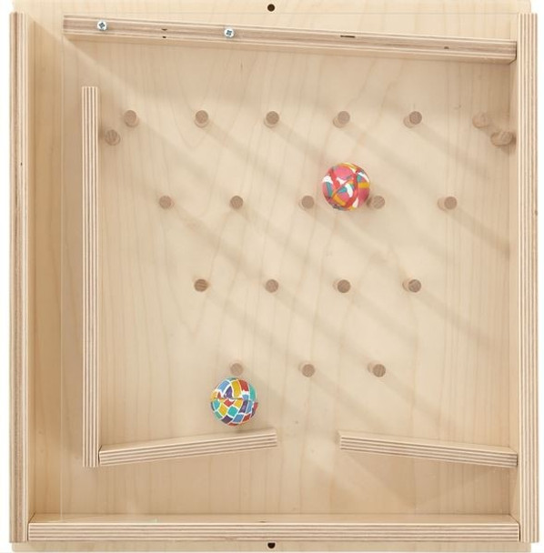 Rubber Ball Stairs Wall Game