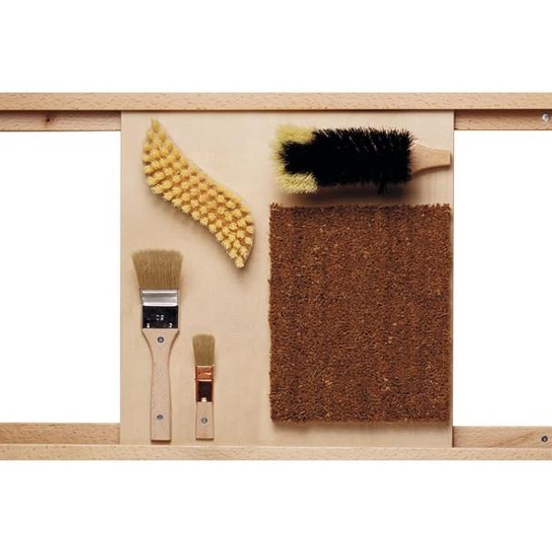 Bristle Brushes Sensory Wall Toy