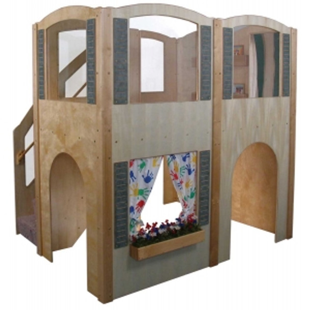 Mainstream Explorer 35 Preschool Wave Loft - Steps on Left