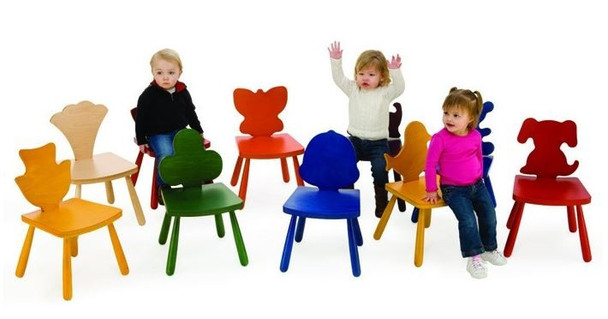 Leaf & Animal Fun Design Shape Chairs