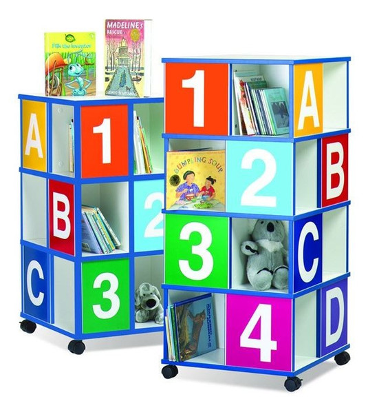 Four-Tier ABC/123 Book Display