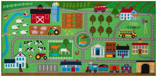 Farm Land Play Rug