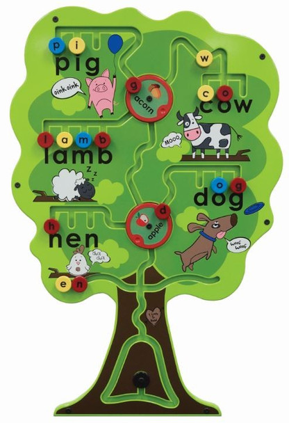 Alphabet Tree Wall Activity