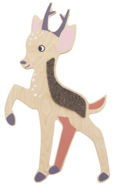 Deer Sensory Wooden Play Wall Decoration