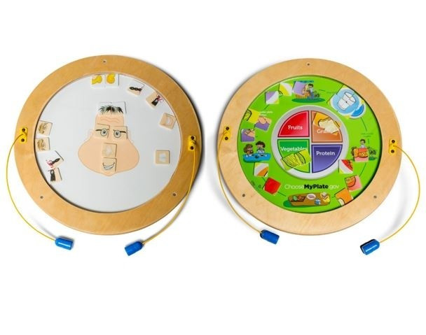 Round Magnetic Wall Activities