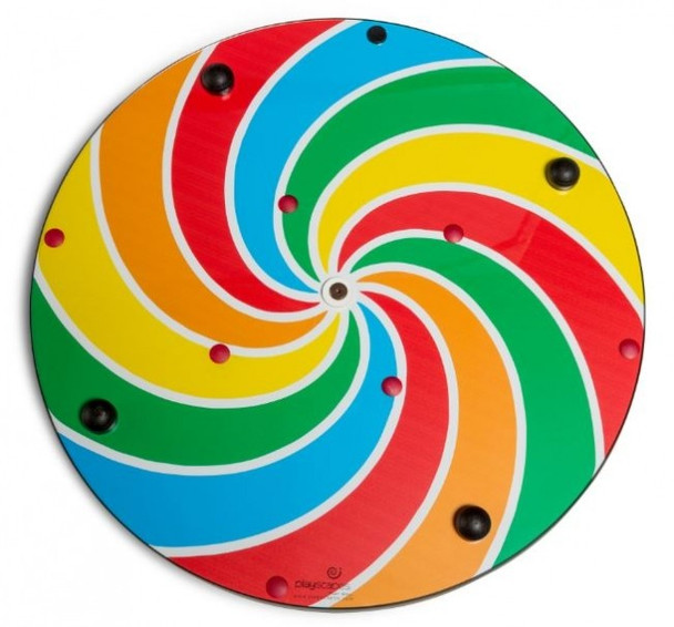 Lollipop Pinwheel Wall Activity