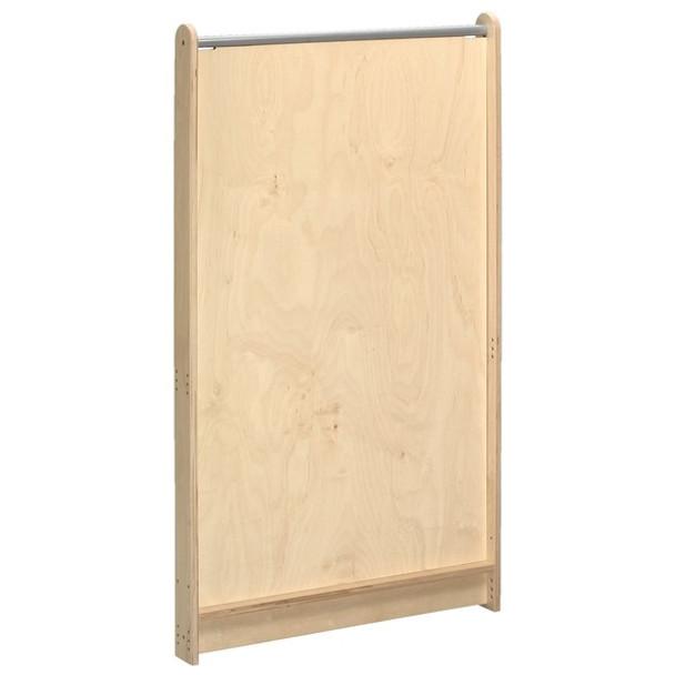 Kindergarten Room Partition - Solid Birch Panel
