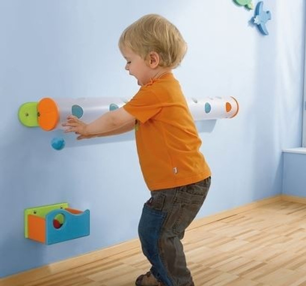 Marble Track Wall Activity