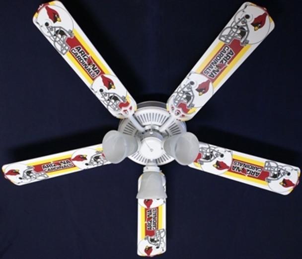 "Arizona Cardinals Ceiling Fan 52"""
