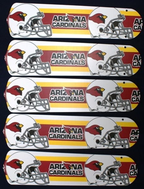 "Arizona Cardinals 52"" Ceiling Fan Blades"