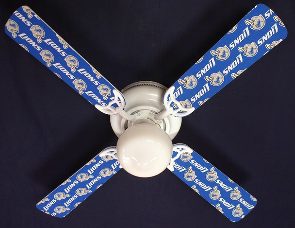 Detroit Lions Ceiling Fan 42""