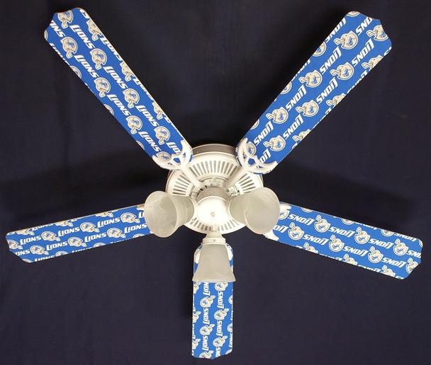 """Detroit Lions Ceiling Fan 52"""""""