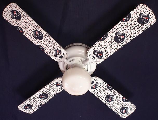 """Houston Texans Ceiling Fan 42"""""""