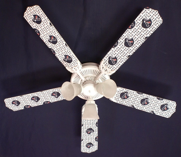 """Houston Texans Ceiling Fan 52"""""""