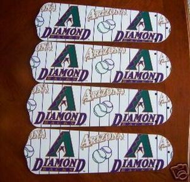 Arizona Diamondbacks Baseball Ceiling Fan Blades