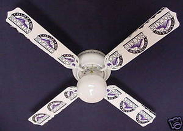 Colorado Rockies Baseball Ceiling Fan 42""