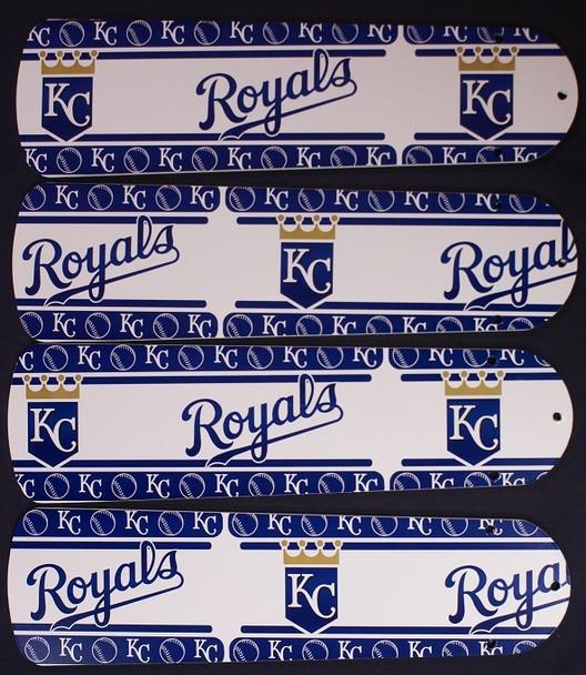 "Kansas City Royals Baseball Ceiling Fan 42"" Blades"