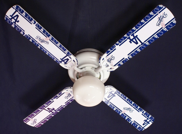 LA Dodgers Baseball Ceiling Fan 42""