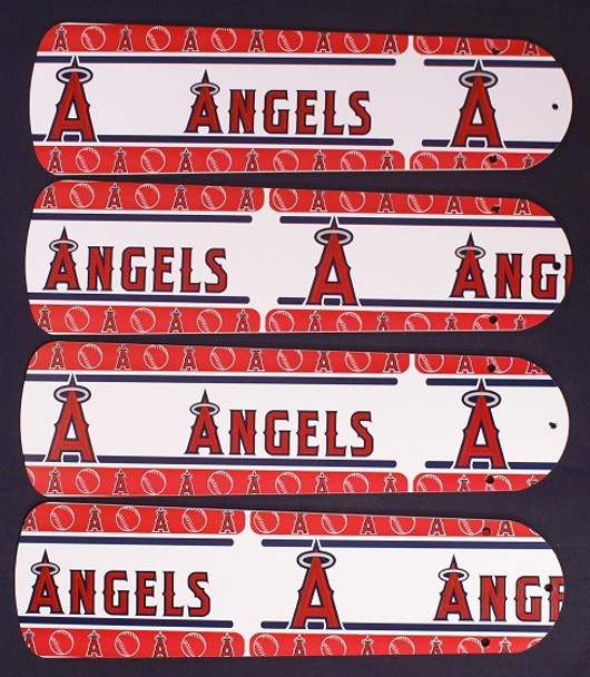 "Anaheim Angels Baseball Ceiling Fan 42"" Blades"
