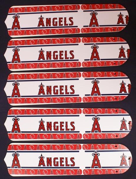 "Anaheim Angels Baseball 52"" Ceiling Fan Blades"